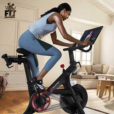استفاده از دوچرخه ثابت